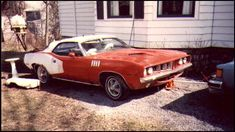 Vintage Iron, Vintage Cars, Junkyard Cars, Rust In Peace, Plymouth Barracuda, Abandoned Cars, Drag Cars, Car Wheels, Station Wagon