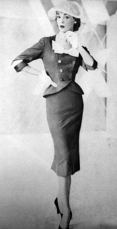 Jean Patchett - 1950's - @~ Mlle