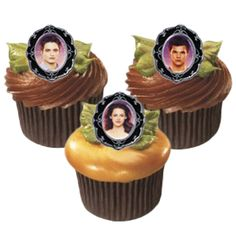 Twilight Breaking Dawn Cupcake Rings (8)