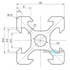 Добрый, солнечный, воскресный день Уважаемые читатели!   Песочница: CNC Shield v3.0 - Софт  Песочница: CNC Shield v3.0 - Железо  Песочница: CNC Shield... Mechanical Engineering Design, Mechanical Design, Autocad Isometric Drawing, Orthographic Drawing, Interesting Drawings, 3d Printing Diy, Cad Software, 3d Cnc, Cad Cam