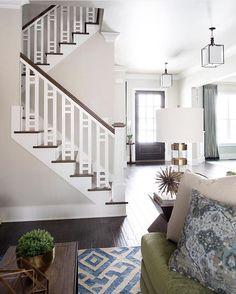 Beautiful stair railing/ banister!                                                                                                                                                                                 More