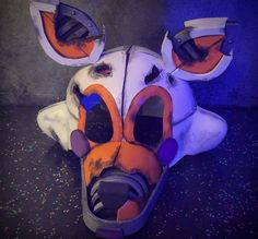 Nightmare Lolbit is the new project I'm working on and this one will be a video. I'm taking my time with this video to make it much more helpful than my other videos were. Also, I wanted to save it for October, but now I'm thinking I might upload it earlier. It just depends. Hope you guys are looking forward to it :) (concept by Mixlas, creator of Baby's Nightmare Circus) #lolbit #lolbitcosplay #nightmarelolbit #fnafcosplay #fnaf #babysnightmarecircus Fnaf Costume, Fnaf Cosplay, Halloween Costume Contest, Halloween Cosplay, Take My Time, Scary Funny, Cool Costumes, Cosplay Costumes, Animal Costumes