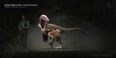 Professional concept artist reimagines Jurassic World with scientific accuracy (OC) - Album on Imgur