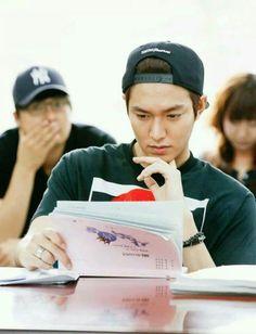 LeeMinHo Heirs script reading^*~`¤♡♥