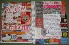 Smash Book Ideas. This looks like something's I have done!