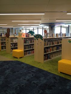 Perimeter End Panels by TMC Furniture. the Shelving is by M J Industries System 30 Public Library Design, Kids Library, Library Furniture, Furniture Design, Bethlehem, Media Center, Kid Spaces, Design Elements, Shelving