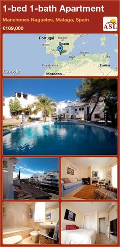 1-bed 1-bath Apartment in Manchones Nagueles, Malaga, Spain ►€169,000 #PropertyForSaleInSpain