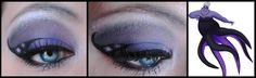 Disney Make-Up - Ursula by ~MaleneSolheim on deviantART