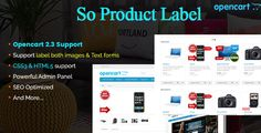 Product Label - Advanced Product Label OpenCart Module by skyoftech So Product Labelis the powerful module designed for OpenCart 2.3.x. It built with labels: hot, new, Free shipping, Sale Off, Pre-order, Out of Stock, Limited, etc that is useful for any online store. By providing a lot of function