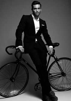 suits and cycles (via cales-vision)