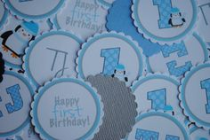 NEW  Winter Onederland Table Confetti by mlf465 on Etsy
