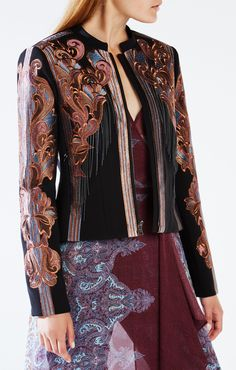 Runway Embroidered Jacket