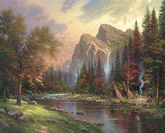 thomas kinkade paintings | Shopping more thomas kinkade paintings for sale at saleoilpaintings ...