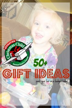 OCC gift ideas on a Budget