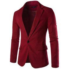 Mens Charm One Button Fit Formal Classic Blazer Business Jacket Suits Casual Luxury Vintage Retro Smart Elegant Dinner Suits Jacket Waistcoat Trench Coat Size M-XXXL