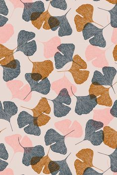 leaves scandinavian patterns pinterest - Buscar con Google