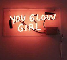 Amber Ibarreche X UO You Glow Girl Neon Sign C$154.00