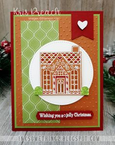 Stampin Up Christmas, Christmas Cards, Stampin Up Paper Pumpkin, Blender Pen, White Gel Pen, Alcohol Markers, Quick Cards, Gel Pens, Stampin Up Cards