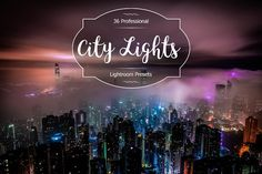 City Lights Lr Presets by FaeryDesign on Business Brochure, Business Card Logo, Professional Lightroom Presets, Creative Sketches, Paint Markers, Pencil Illustration, City Lights, Watercolor And Ink, Painting & Drawing