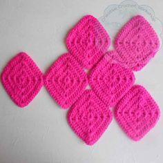 6 Granny Square Birdie Slippers Guest Post Joanita Theron Creative Crochet Workshop