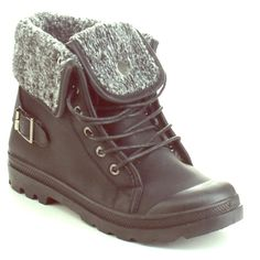 Cold weather lace up by viviglam  Super nice cold weather boots this boots is perfect addition to your sweater weather style featuring lace up front, lug soles, & buckle straps at back , they stylish faux leather upper & knit fold over, cuff will give u the option of a short or tall look , they are full lined u will fall in love available in tan gorgeous new in a box  Shoes Ankle Boots & Booties
