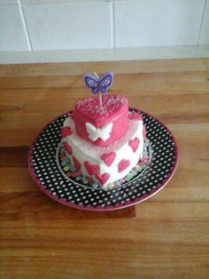 Klein verjaardags taartje