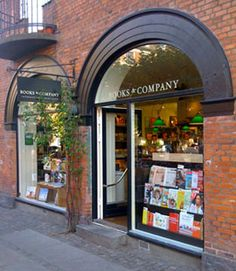 Gorgeous International book cafe in Hellerup, Denmark.