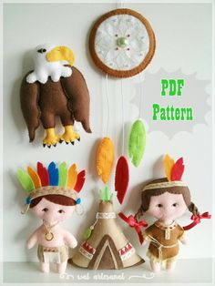 Tribal Indian - PDF Pattern - So lovely!