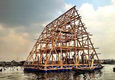 La oficina NLÉ Architects, dirigida por el arquitecto nigeriano Kunlé Adeyemi, está construyendo una nueva escuela m...