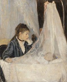 Berthe Morisot - The Cradle - Google Art Project - Category:Le Berceau, by Berthe Morisot - Wikimedia Commons