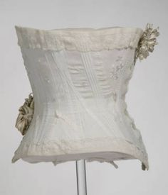 Corset :: Costume and Textile Collection