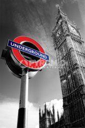 Big Ben & Underground Sign