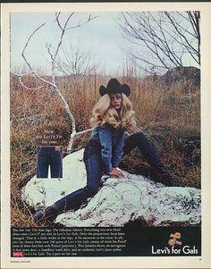 vintage jeans ad