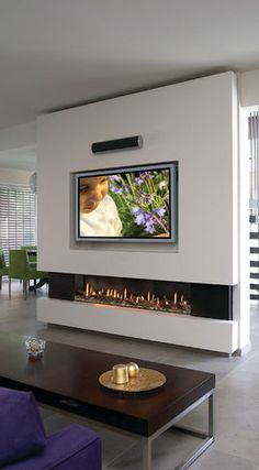 Wohnzimmer Wohnzimmer Home Deco contemporary fireplace design modernfireplaceideas Wohnzimmer Linear Fireplace, Home Fireplace, Living Room With Fireplace, Fireplace Design, Fireplace Ideas, Fireplace Outdoor, Fireplace Hearth, Fireplace Drawing, Modern Interiors