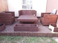 Pallet Deck Funriture Plans