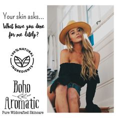 🍃🌻Make smart choices and take care of your skin! We have plant-rich natural & organic #cleansers, #moisturizers and #treatments available online! #naturalskincare #facecareproducts #indiebeauty #madeinamerica #facecareroutine www.BohoAromatic.com or Amazon Prime 🇺🇸! Link in bio!