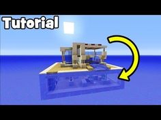 http://minecraftstream.com/minecraft-tutorials/minecraft-tutorial-how-to-make-a-modern-water-house/ - Minecraft Tutorial: How To Make A Modern Water House Ever wonder what dolphins are thinking? like the video and find out In this tutorial i show you how to make this awesome modern house on the water fit with an underwater base! what more could you ask for? Twitter – @TSMC360 Check Out My Figurine You Can Buy!...