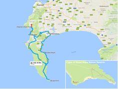 Route Kap-Halbinsel