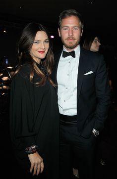 Drew Barrymore  junto a su marido, Will Kopelman,