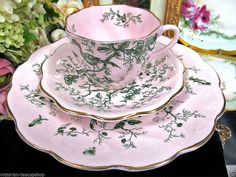 Coalport Tea Cup and Saucer