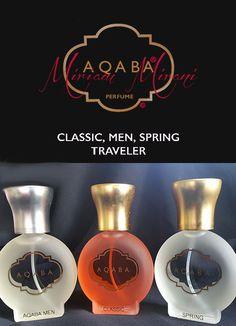AQABA CLASSIC, AQABA MEN, AQABA SPRING Traveler
