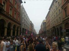 Twitter / @Giulia Cimarosti: I'm at #gaypride 2013! #BlogVille #Bologna