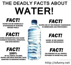 The deadly facts about water isfunny.net