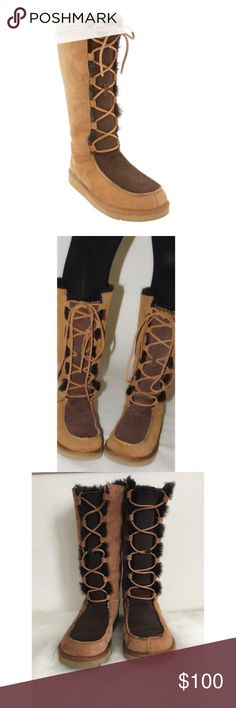 UGG Australia Lace Up Boots UGG Uptown lace up boots. Size 8. Great condition! Only worn twice. UGG Shoes Lace Up Boots