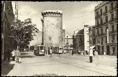 Valencia : avda de Guillem de Castro y Torres de Cuarte. (s.a.) - Anónimo Valencia Spain, Street View, Nostalgia, 18th Century, Towers, Cities, Past Tense, Community, Antigua