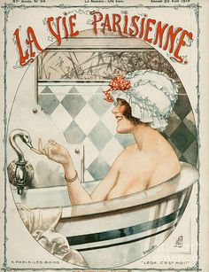 La Vie Parisienne 1919 1910s France Drawing by The Advertising Archives