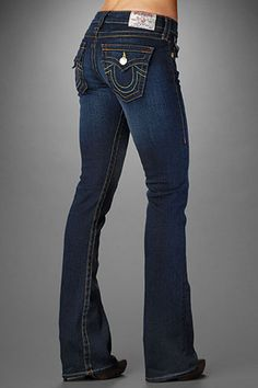 Kelly bought me my first pair of True Religion jeans yesterday and I am now converted. I love these jeans!!!