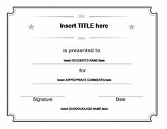 Blank Stock Certificate Template | Printable Stock Certificates ...