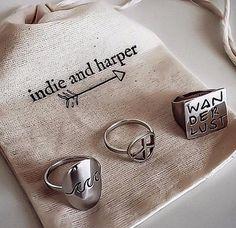 Indie & Harper Rings