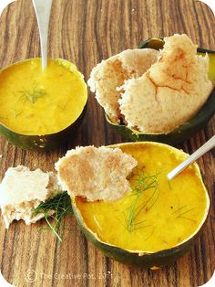Harissa Spiced Squash Soup b2-w by The Creative Pot, via Flickr